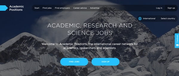 academic positions