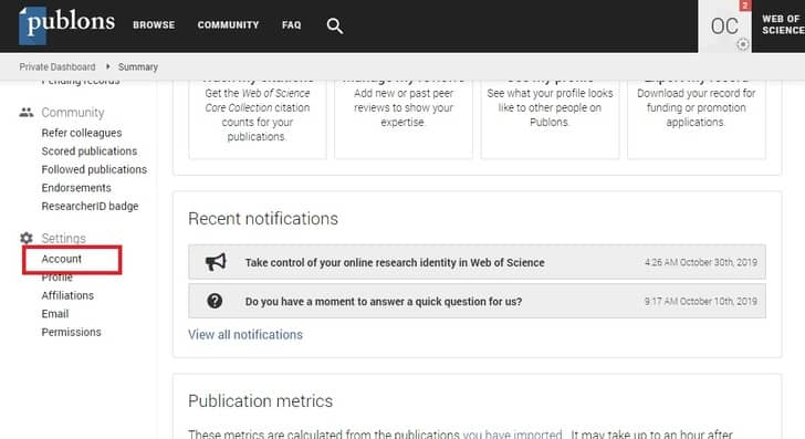orcid id publons